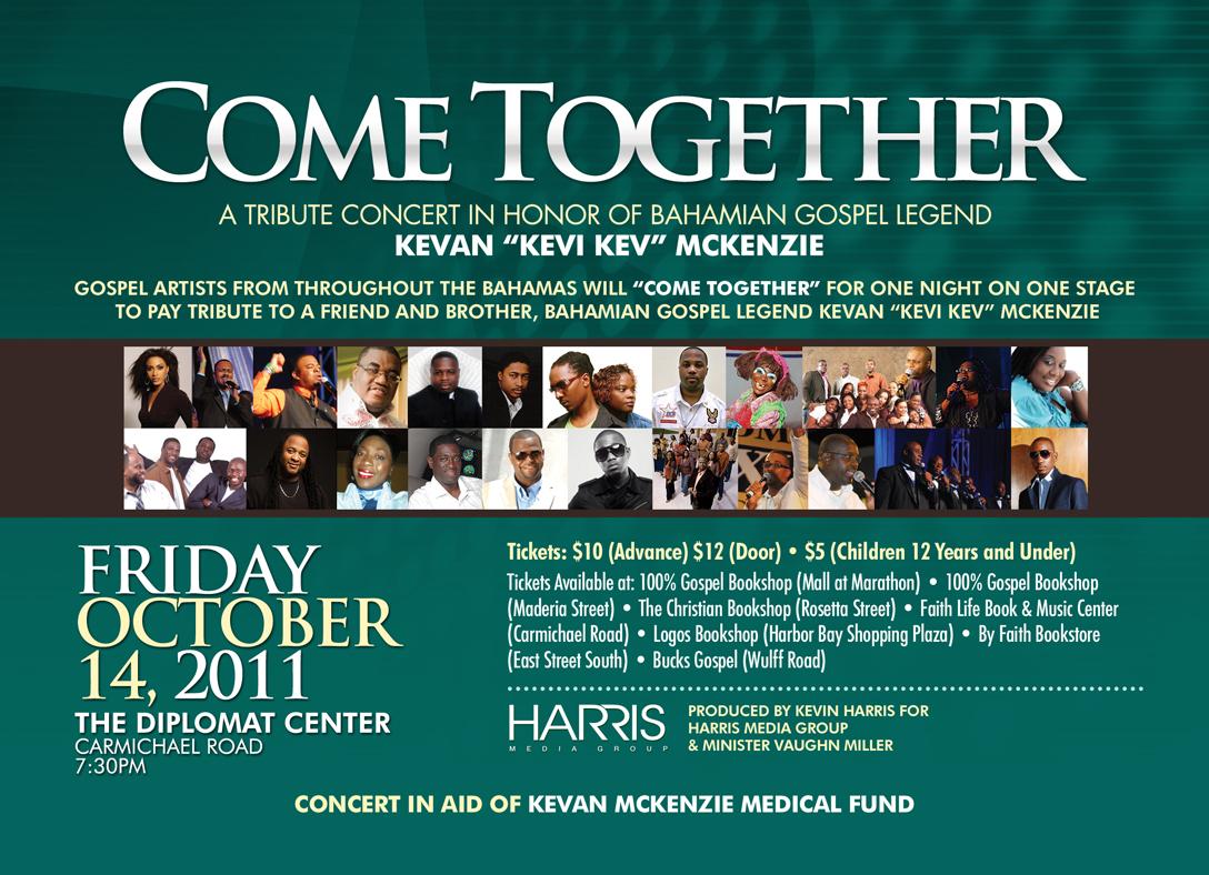 come together fund raising tribute concert for kevi kev spirit fm